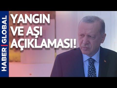 Cumhurbaşkanı Erdoğan'dan Orman Yangınları Açıklaması!