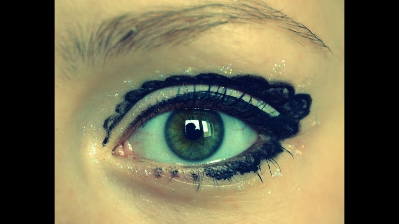 Ажурный вечерний макияж | Lace Eyes
