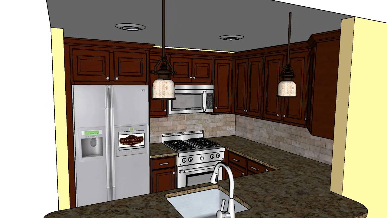 Lynch Kitchen Renovation CAD Design   MasterCraft Kitchen U0026 Bath
