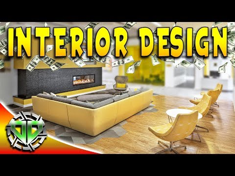 House Flipper Gameplay : Interior Design and Flipping Another House : PC Lets Play