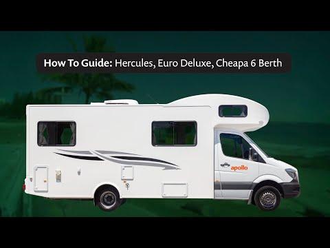 Apollo Australia How To Guide Video – Hercules, Euro Deluxe & Cheapa 6 Berth