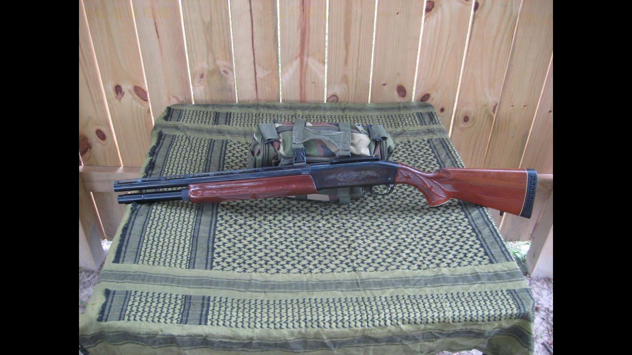 Remington Model 1100 Tactical Project - 2/2