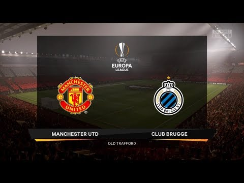 FIFA 20 Career Season 1 UEFA Europa League Round of 32 Manchester United vs. Club Brugge 2nd Leg