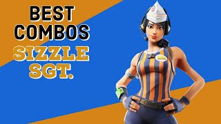 Best Combos | Sizzle Sgt. | Fortnite Skin Review