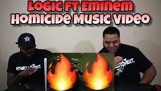 Logic - Homicide ft. Eminem (REACTION) 🔥