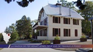 Yvelines | La Maison de Fer renaît après deux ans de travaux à Poissy
