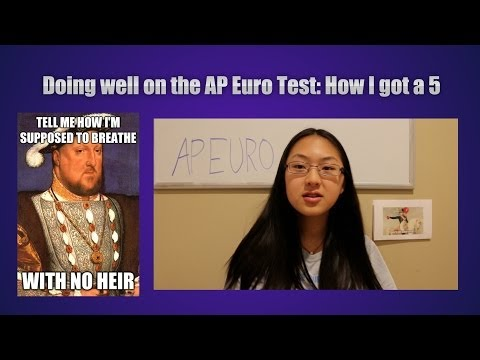 How I Got A 5 On The AP Euro Test!