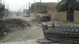 Road Side Bomb in Iraq