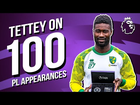 Alex Tettey on reaching 100 Premier League appearances for Norwich City