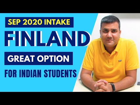 Study in Finland 🇫🇮 2020 Intake for Indians Students  | Great Study & Career options Available