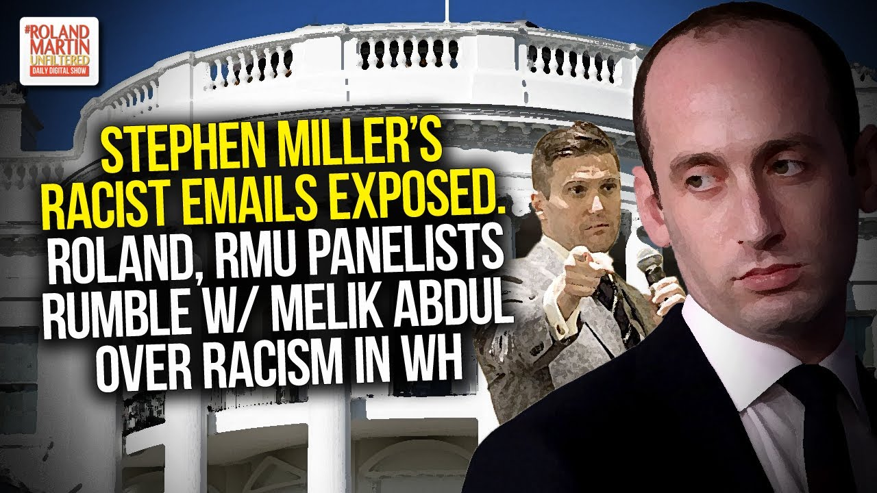 Emails show White House advisor Stephen Miller promoting white ...