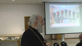 Bishop Jerome Speaks Speaks About Chapel dedicated to St Sergius in CT