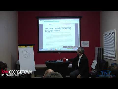 Wire Fraud Class with David Tandy
