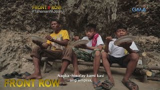 Front Row:  Pamilya sa Camarines Sur, nakatira sa isang kuweba