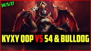 Fnatic.kyxy Qop /w Kecik Imba Lion Vs S4 Storm & Bulldog Natures Prophet | Dota 2 Ranked Gameplay