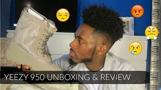YEEZY x Adidas 950 Unboxing & Review | A Tragic Ending