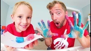 FATHER & SON MAKE DELICIOUS BUBBLE GUM!