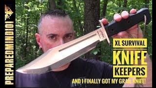 FAQ XL Survival Knife Keepers I Got My Grail Knife Preparedmind101