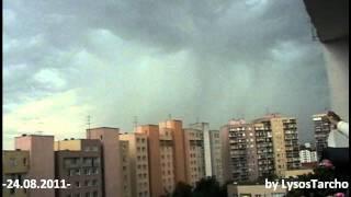 Undulatus Asperatus Very Loud Thunderstorm Warsaw -24.08.2011-