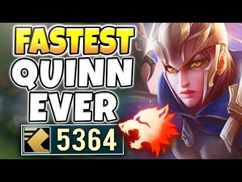 5000+ MS NUCLEAR MISSILE QUINN! (COMPLETELY BROKEN) SUPER SPEED ONE-SHOTS! - League of Legends