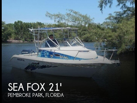 [UNAVAILABLE] Used 2005 Sea Fox 210 Walkaround in Pembroke Park, Florida