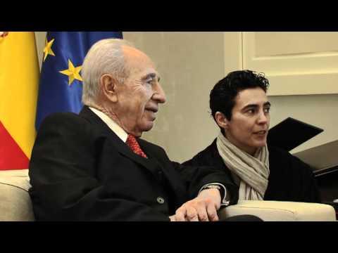 President Peres Meets Spanish PM Zapatero - 22 Feb 2011.mov