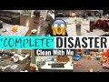 *HUGE* COMPLETE DISASTER WHOLE HOUSE CLEAN WITH ME | SUPER MESSY HOUSE | EXTREME CLEANING MOTIVATION