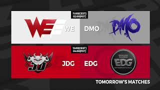 ES vs. V5 | RNG vs. FPX - Week 5 Day 7 | LPL Summer Split (2020)