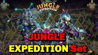 Dota 2 Jungle Expedition Sets Show [Dazzle-Ursa-Sven] || TI9 Battle Pass