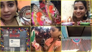 BEST DHANTERAS Shopping & Office Diwali Decoration, Rangoli VLOG/ INDIAN MOM ON DUTY