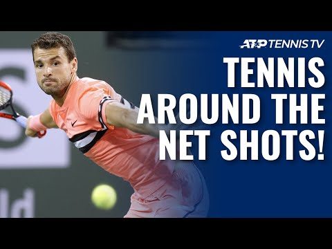 20 Times Tennis Players Went AROUND THE NET POST!