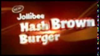 New Jollibee Hash Brown Burger