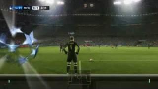 PES 2012 FINAL UEFA CHAMPIONS LEAGUE BARCELONA V. MANCHESTER UNITED