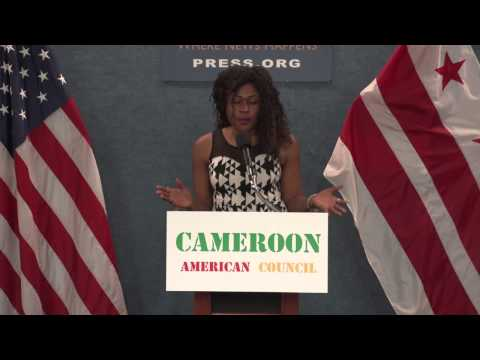 The Cameroon American Council press conference sponsored by Empak Corp