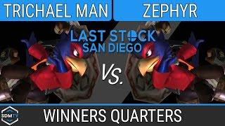 lssd 80 trichael man falcoganon vs zephyr falcoganon ssbm winners quarters smash melee