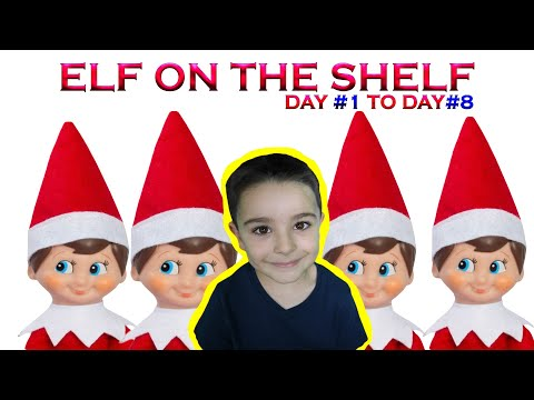 Elf on the Shelf Christmas 2019 || Tubers FunFam