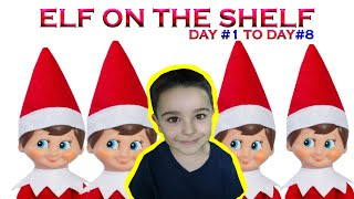 Elf on the Shelf Christmas 2019 || Tubers FunFam