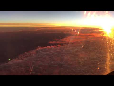 Flat Earth Nightmare at 43,000 ft.  - read description please. thumbnail