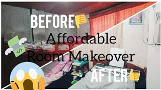 Room Makeover with P1k budget | rose kate