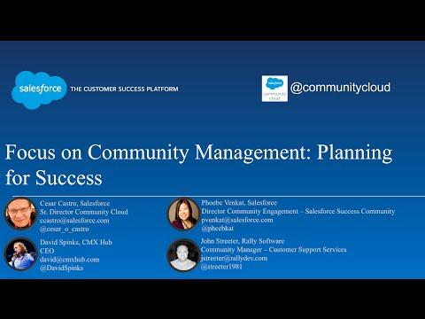 Focus on Community Management: Planning for Success