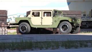 1989 AM General Humvee Test Drive *Street Legal