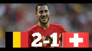 BELGIQUE 🇧🇪 VS SUISSE 🇨🇭 2-1 | DOUBLÉ DE LUKAKU | NATIONS LEAGUE 2018