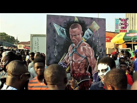 Excerpts from 2017 Chale Wote - Ghana's 'Biggest Outdoor' St