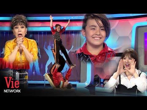 Việt Hương bái phục cậu bé người Nhật với màn diễn xiếc siêu đỉnh | Người Bí Ẩn