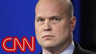 Trump backpedals on knowing Matt Whitaker