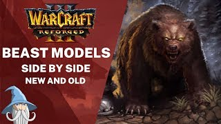 Beast Models Comparison (Reforged vs Classic)   Warcraft 3 Reforged Beta