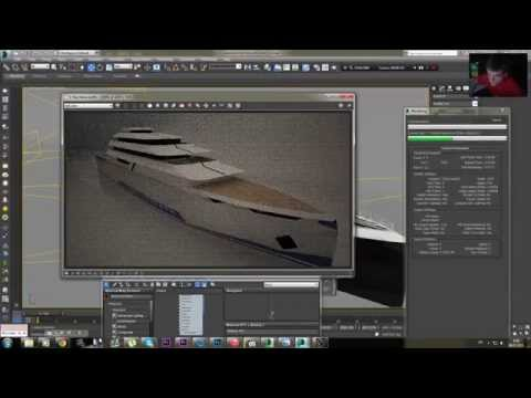 Speed Modeling Yacht Part II. 50fps.