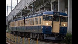 しなの鉄道115系横須賀色 EH200石油貨物 20170813-0817
