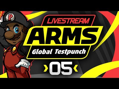 ARMS Gameplay - Global Testpunch Livestream! [#05] [Twintelle Gameplay]