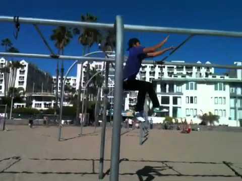 Santa Monica jumping bars
